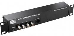 4-канальный активный видео приемник, усилитель-распределитель       NVT       NV-442