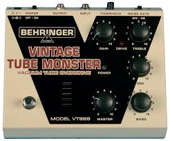 Ламповая педаль Behringer VT 999 VINTAGE TUBE MONSTER