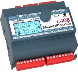 Модуль I/ O BACnet/ IP с физическими входами и выходами LIOB-550